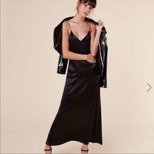 NWOT Reformation Jordan Dress Silk sz M